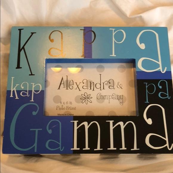 Other Kappa Kappa Gamma Picture Frame Poshmark